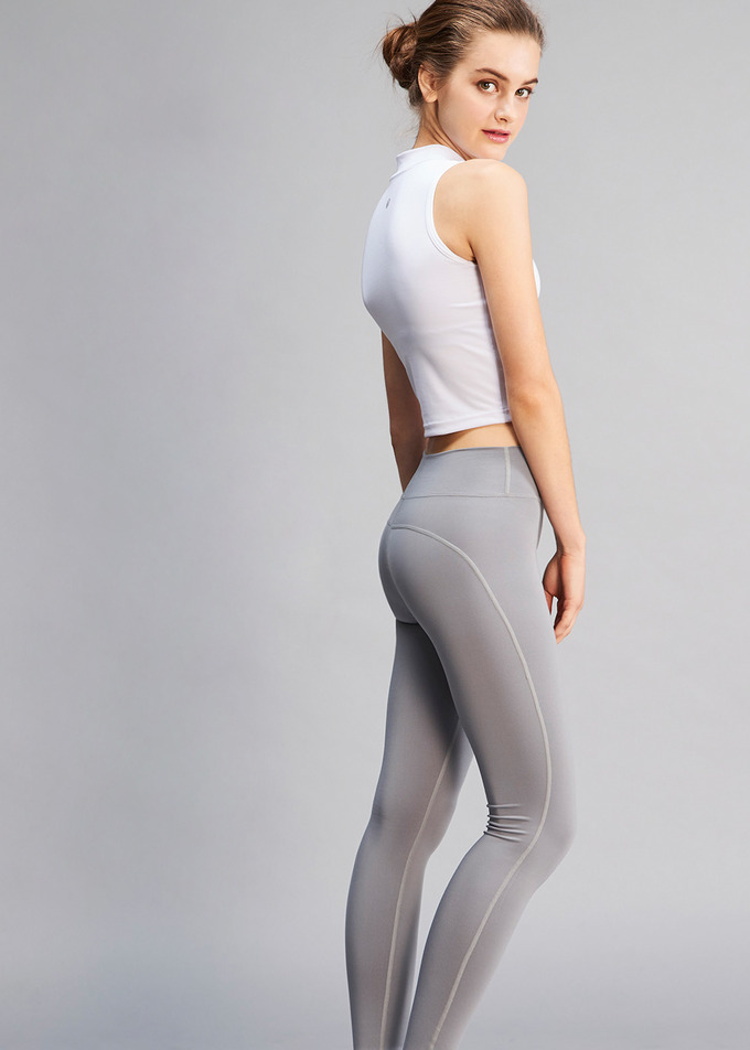 Round Comfy Long - 그레이(Gray)
