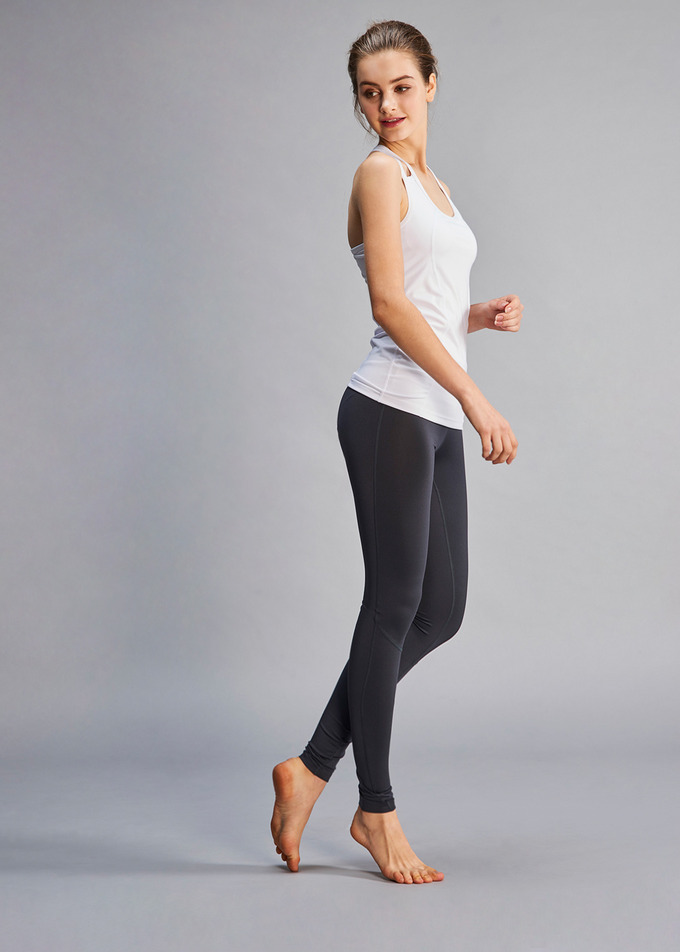 Asana Yoga Leggings - 차콜(Charcoal)