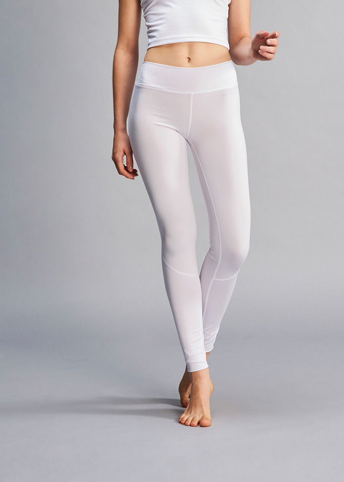 Asana Yoga Leggings - 화이트(White)